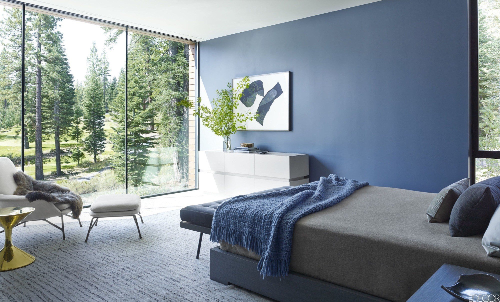 Best 10 Stunning Blue Bedroom Designs Housely With Pictures