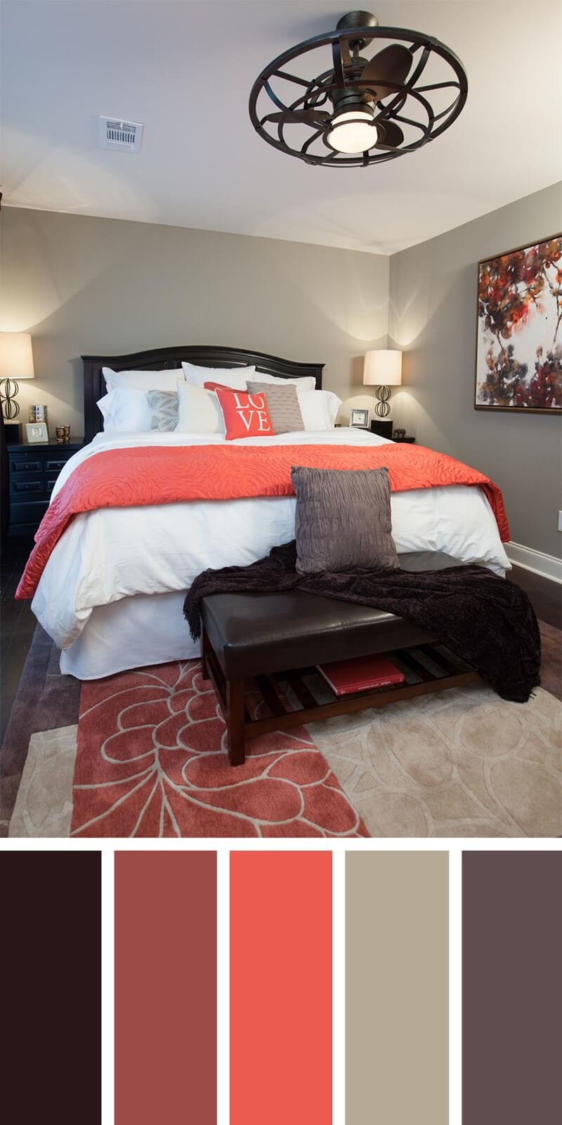 Best 12 Best Bedroom Color Scheme Ideas And Designs For 2019 With Pictures
