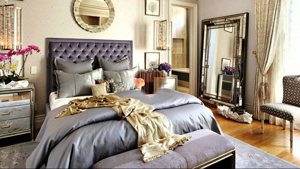 Best Cream Wall Master Bedroom Ideas With Black Bed Frame On With Pictures