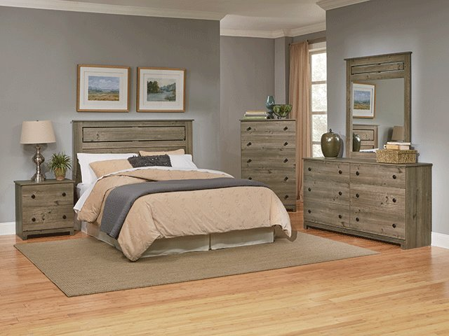 Best Riverbend Queen Bedroom Set The Furniture Mart With Pictures