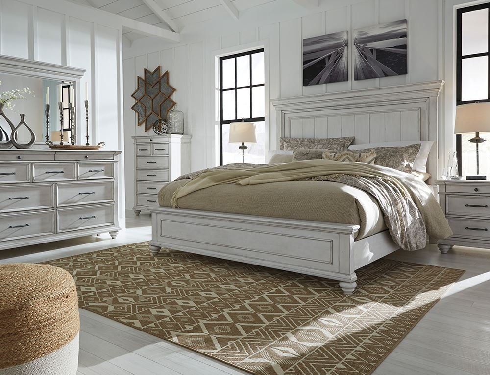 Best Kanwyn Queen Panel Bedroom Set The Furniture Mart With Pictures