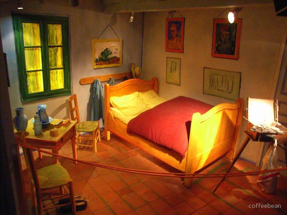 Best Visit Vincent S Bedroom In Arles By Coffeebean Redbubble With Pictures