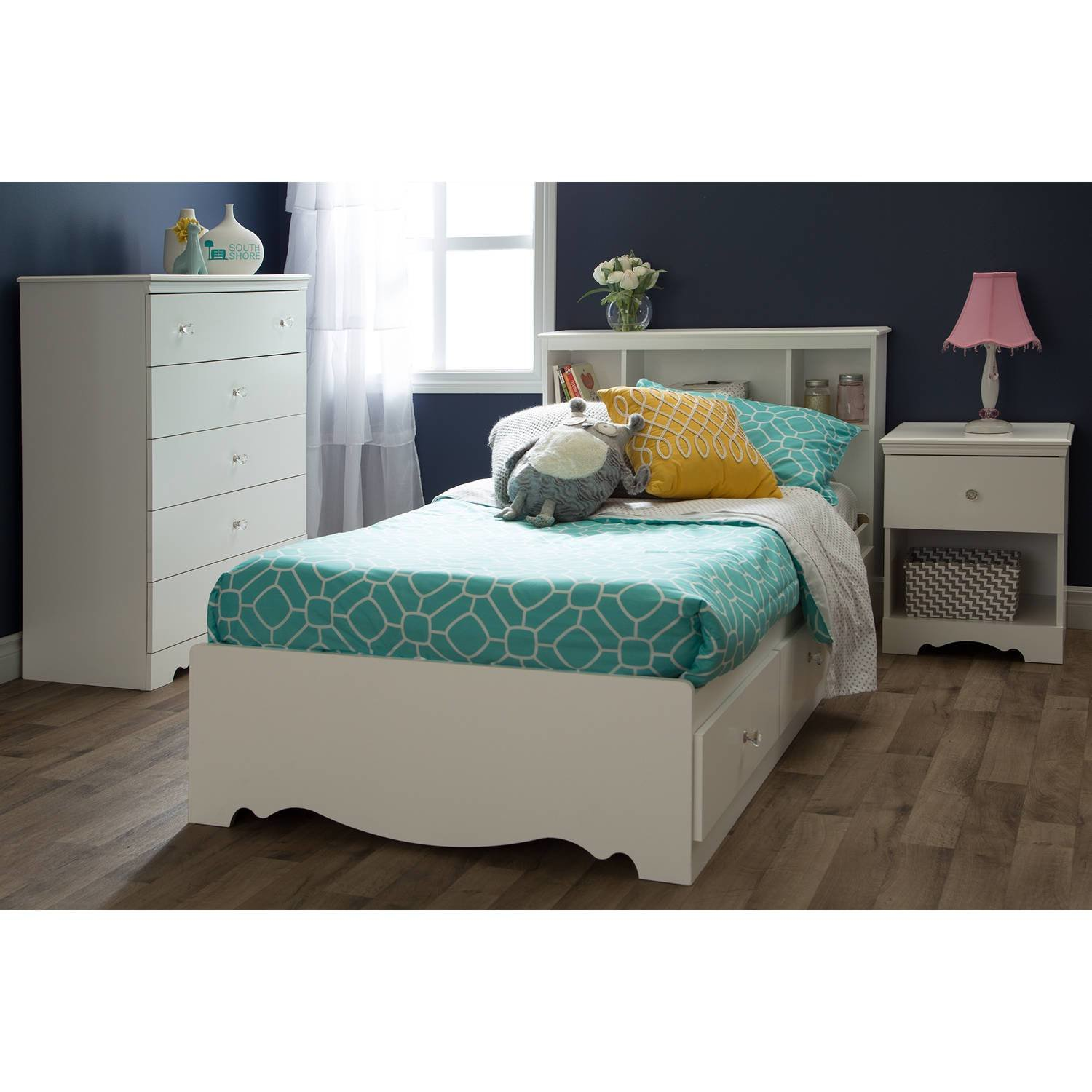 Best South Shore Crystal Kids Bedroom Furniture Collection Walmart Com With Pictures