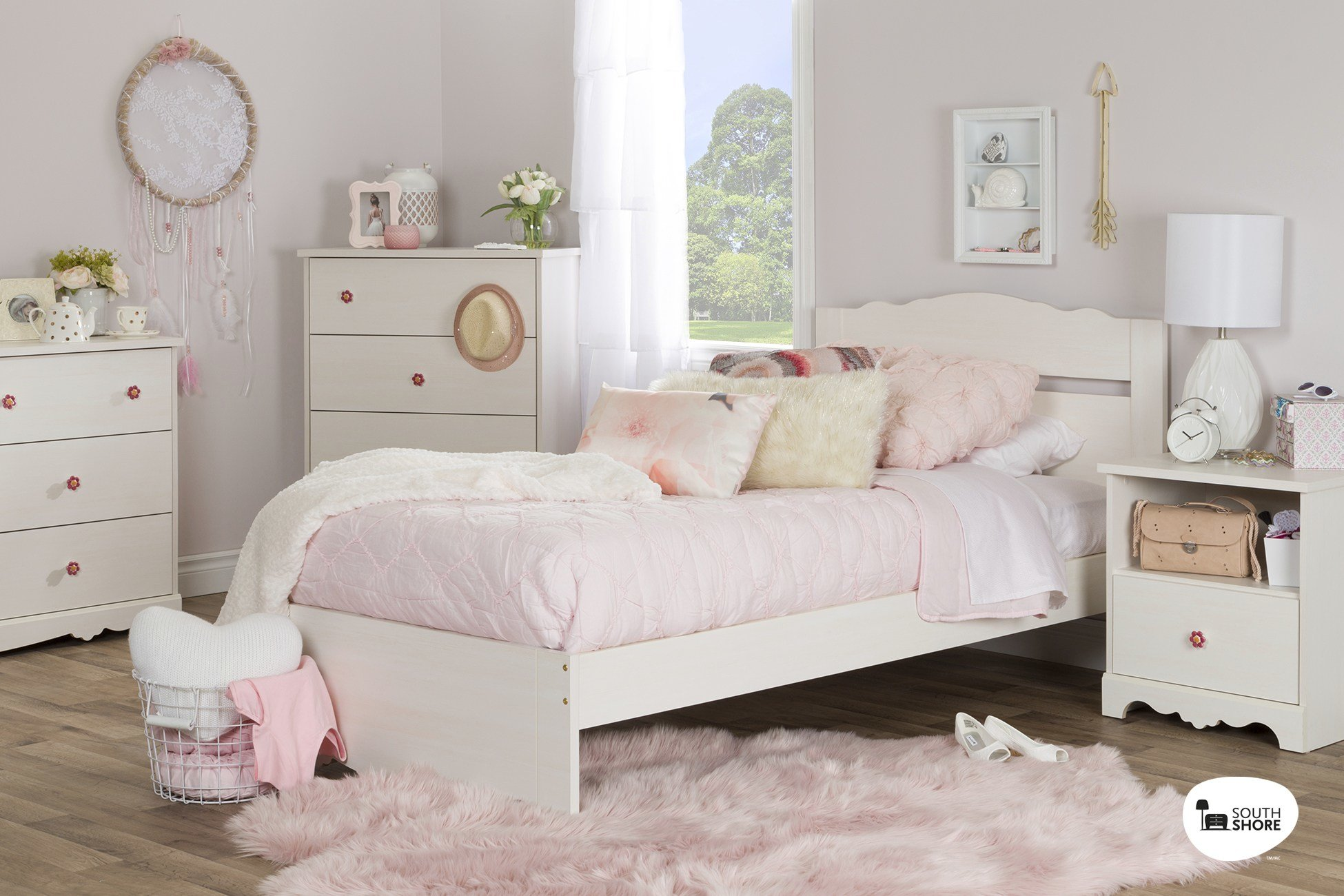 Best South Shore Lily Rose Kids Bedroom Furniture Collection With Pictures