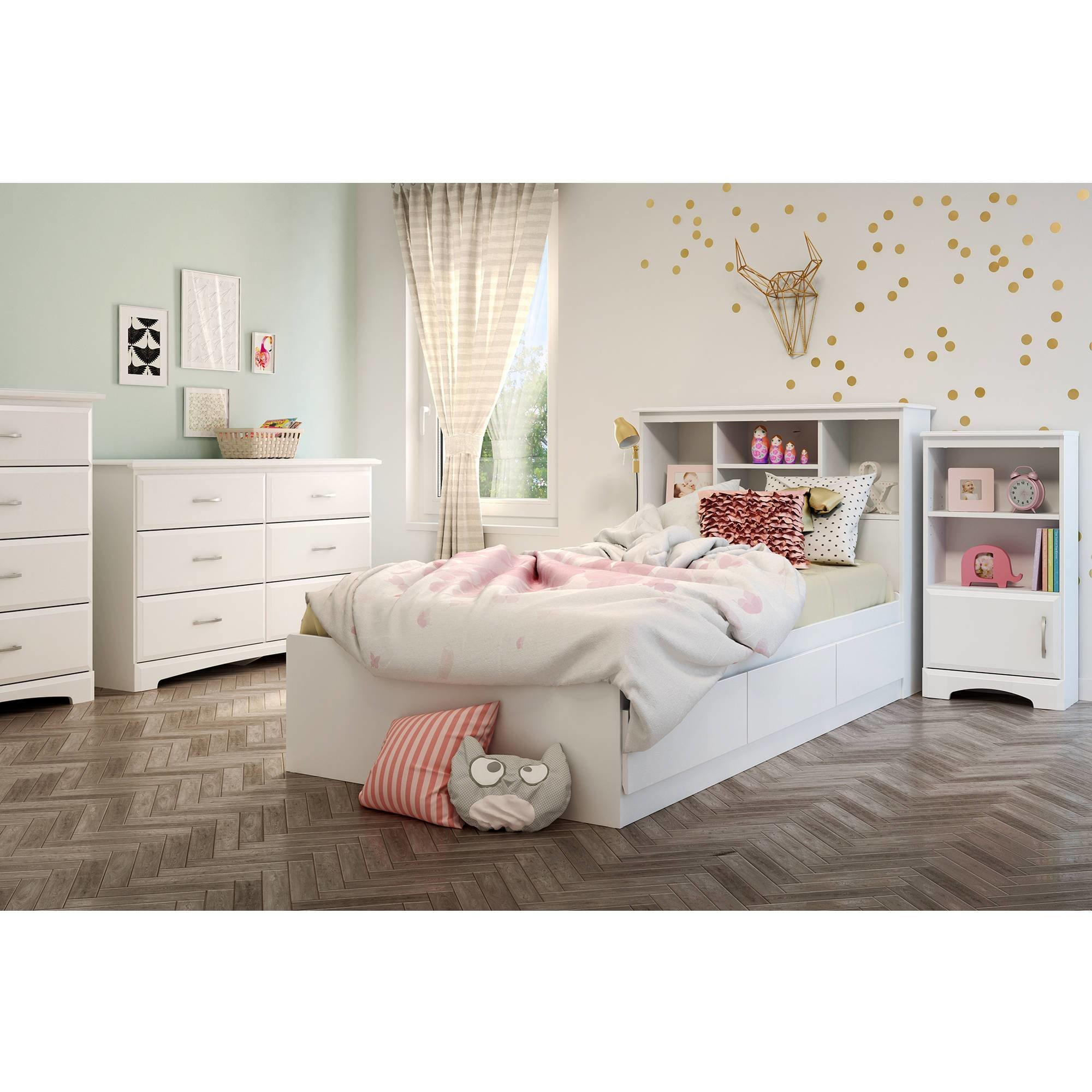 Best South Shore Callesto Kids Bedroom Furniture Collection Walmart Com With Pictures
