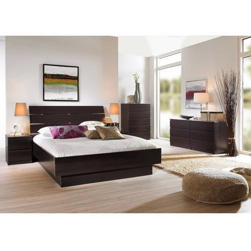 Best Laguna Lacquered Espresso Bedroom Furniture Collection Walmart Com With Pictures
