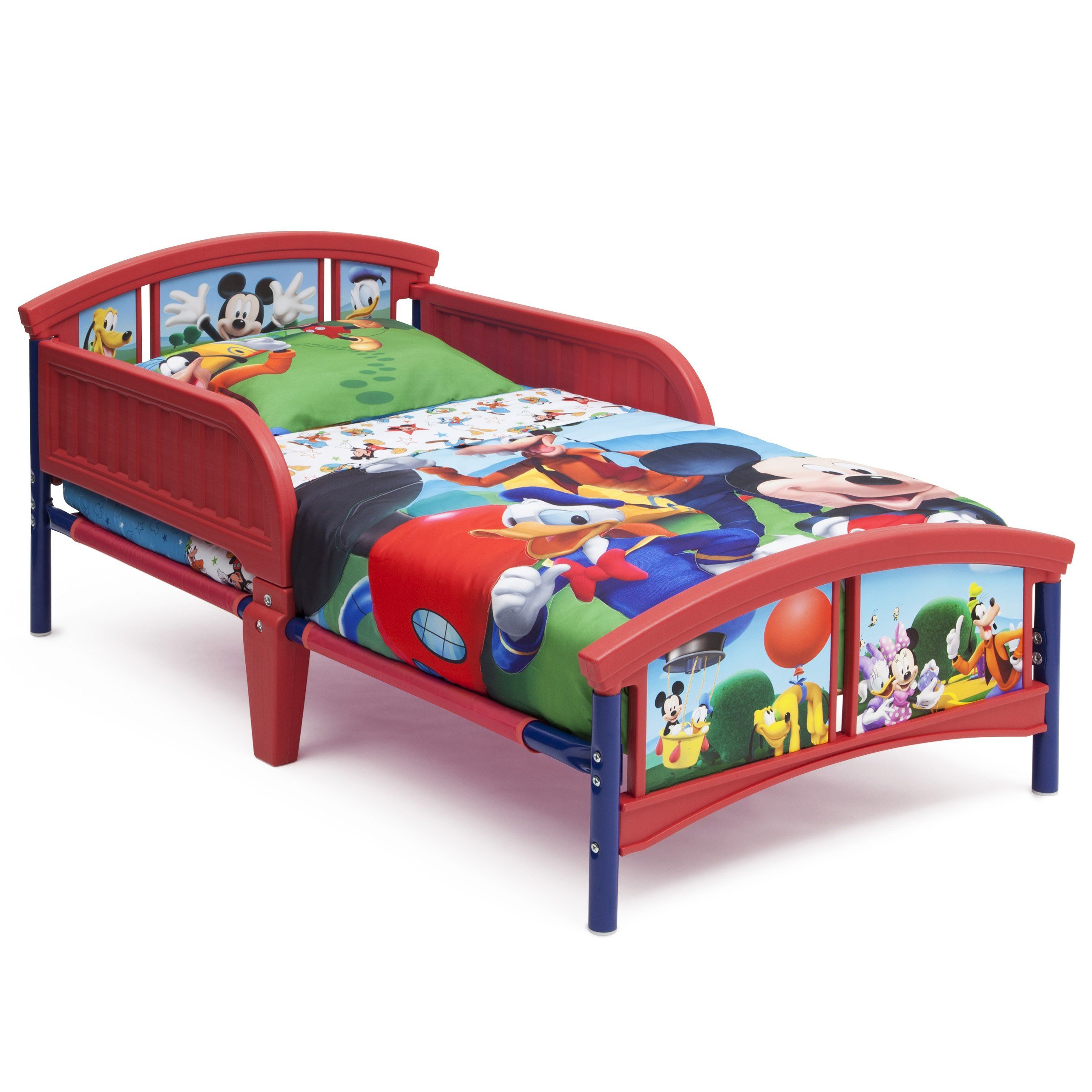 Best Disney Mickey Mouse Bedroom Set With Bonus Toy Organizer With Pictures