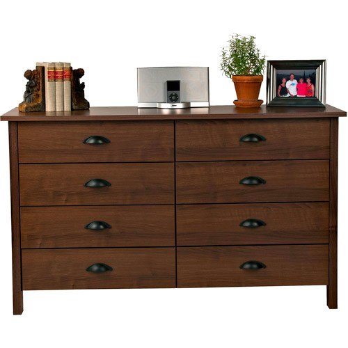 Best 8 Drawer Nouvelle Dresser Walnut Walmart Com With Pictures
