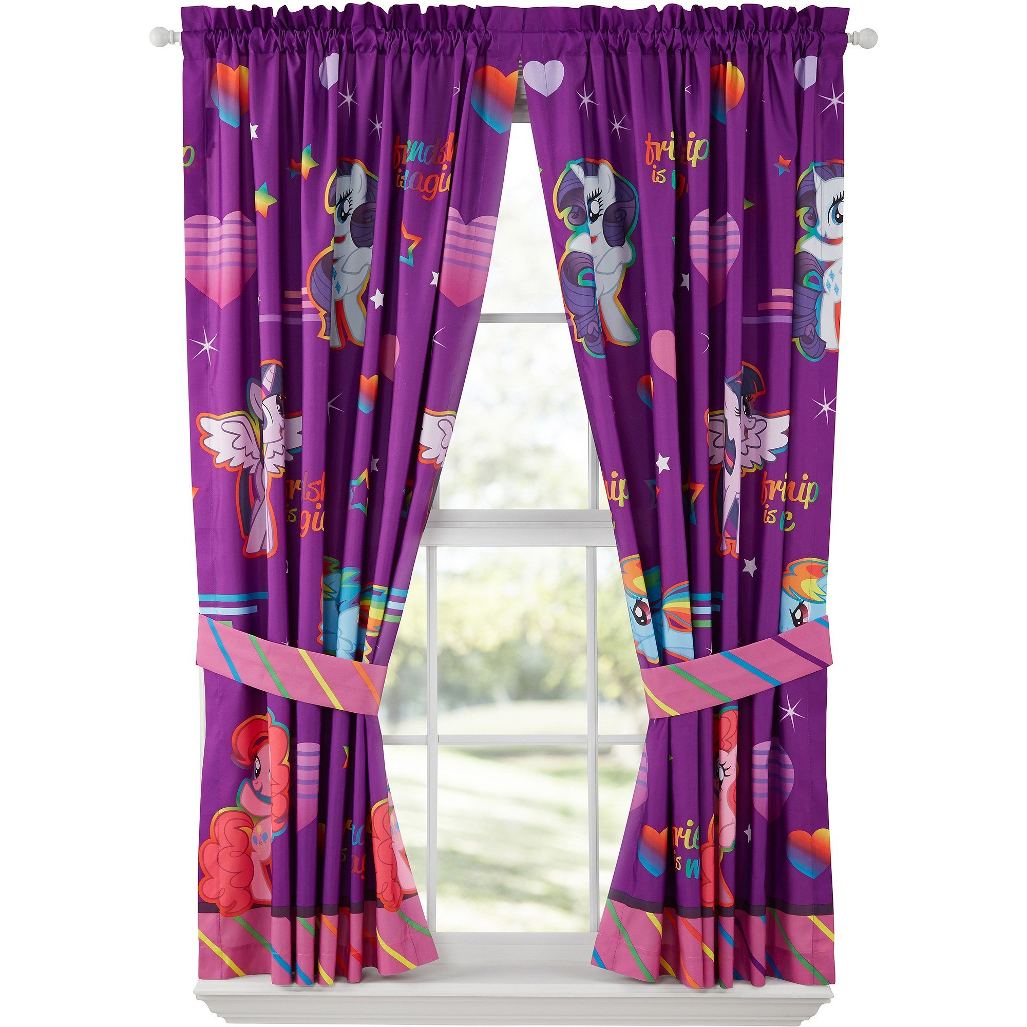 Best My Little Pony Ride The Wind Girls Bedroom Curtains With Pictures