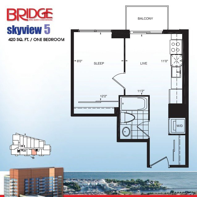 Best Bridge Condos Bridge Condominiums 38 Joe Shuster Way With Pictures