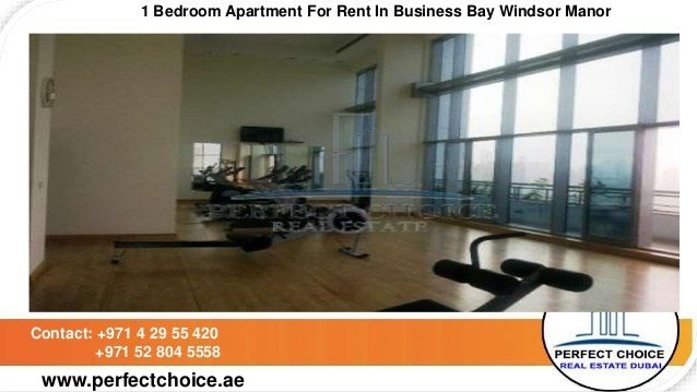 Best 1 Bedroom Apartment For Rent In Business Bay Windsor Manor With Pictures
