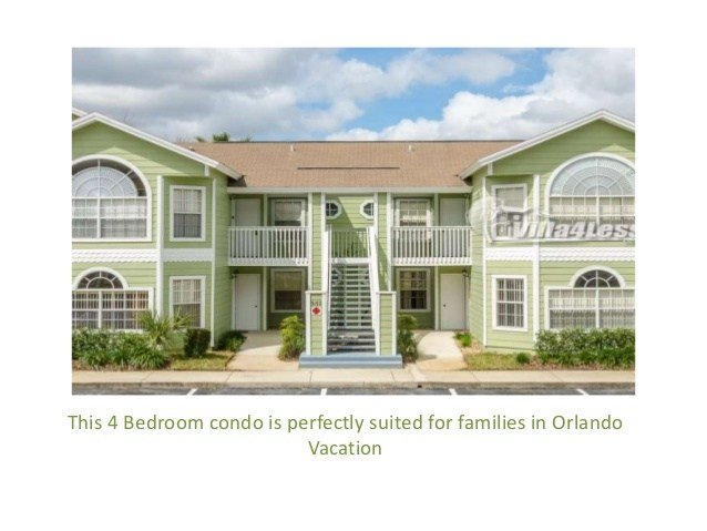 Best 4 Bedroom Vacation Rental Home In Orlando With Pictures
