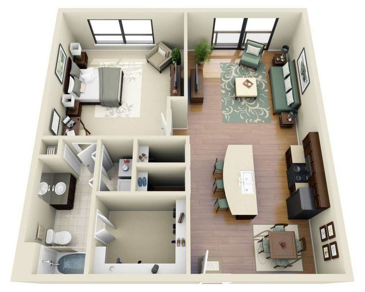 Best 4 Bedroom Apartments Near Me 2018 Home Comforts With Pictures