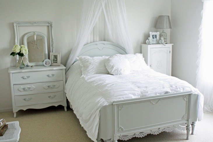 Best 21 Shabby Chic Bedroom Furniture Designs Ideas Plans With Pictures