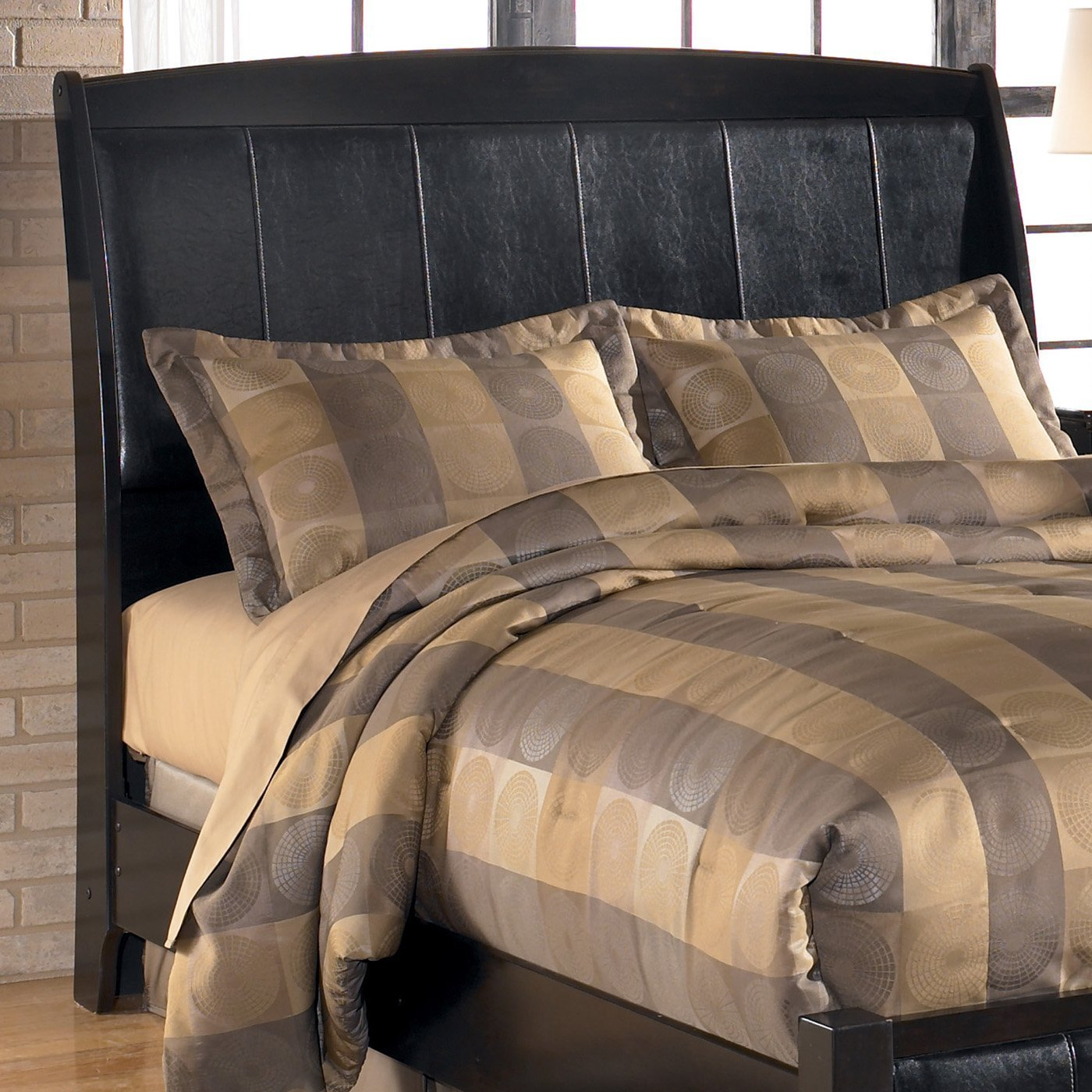 Best Signature Design By Ashley B208 7 Harmony Sleigh Headboard With Pictures