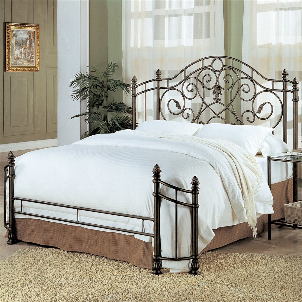 Best Coaster Fine Furniture 300161Q Iron Bed Atg Stores With Pictures