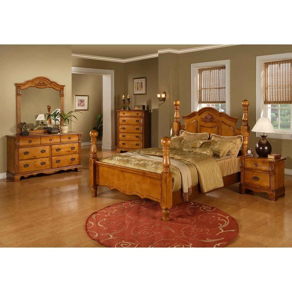 Best Sunset Trading Brighton 5 Piece Poster Bedroom Set Atg Stores With Pictures