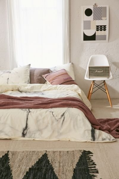 Best Chelsea Victoria For Deny Marble Duvet Cover Urban With Pictures