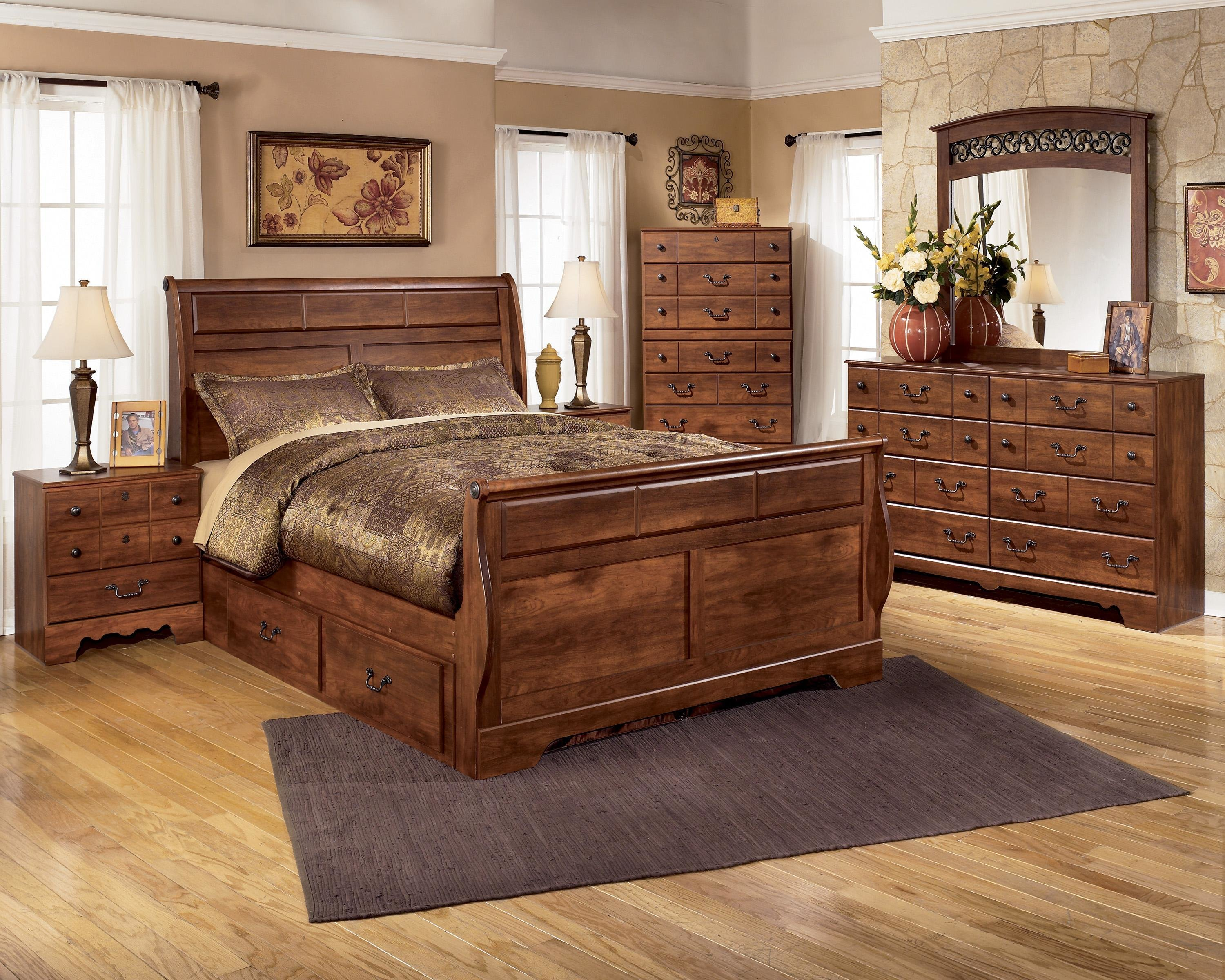 Best Signature Design By Ashley Timberline Queen Bedroom Group With Pictures