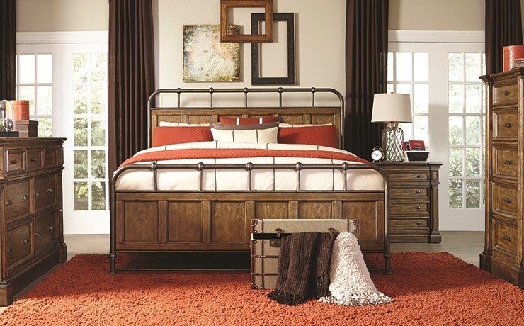 Best Bedroom Furniture Darvin Furniture Orland Park With Pictures