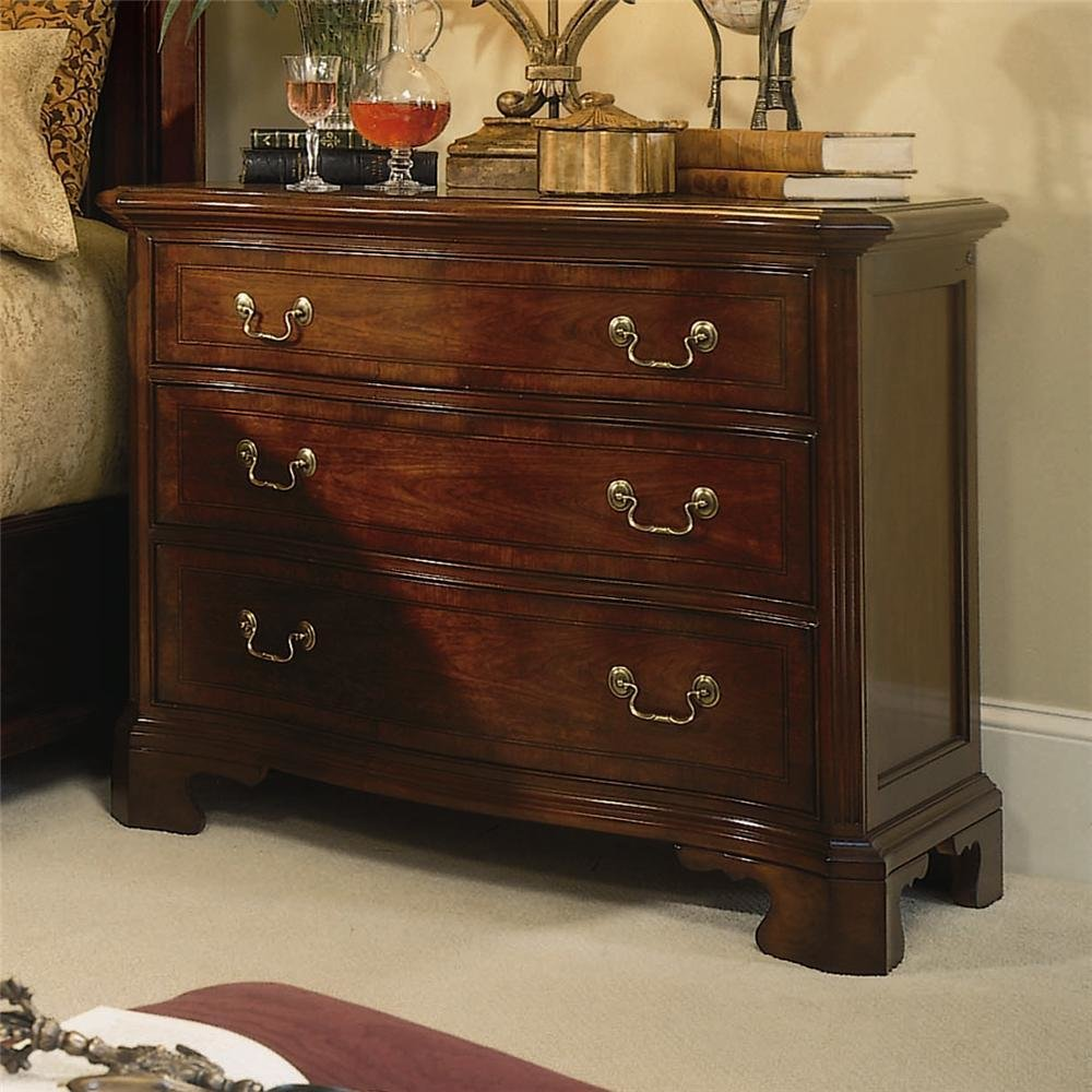 Best American Drew Cherry Grove 45Th 3 Drawer Bachelor Chest Stoney Creek Furniture Night Stands With Pictures