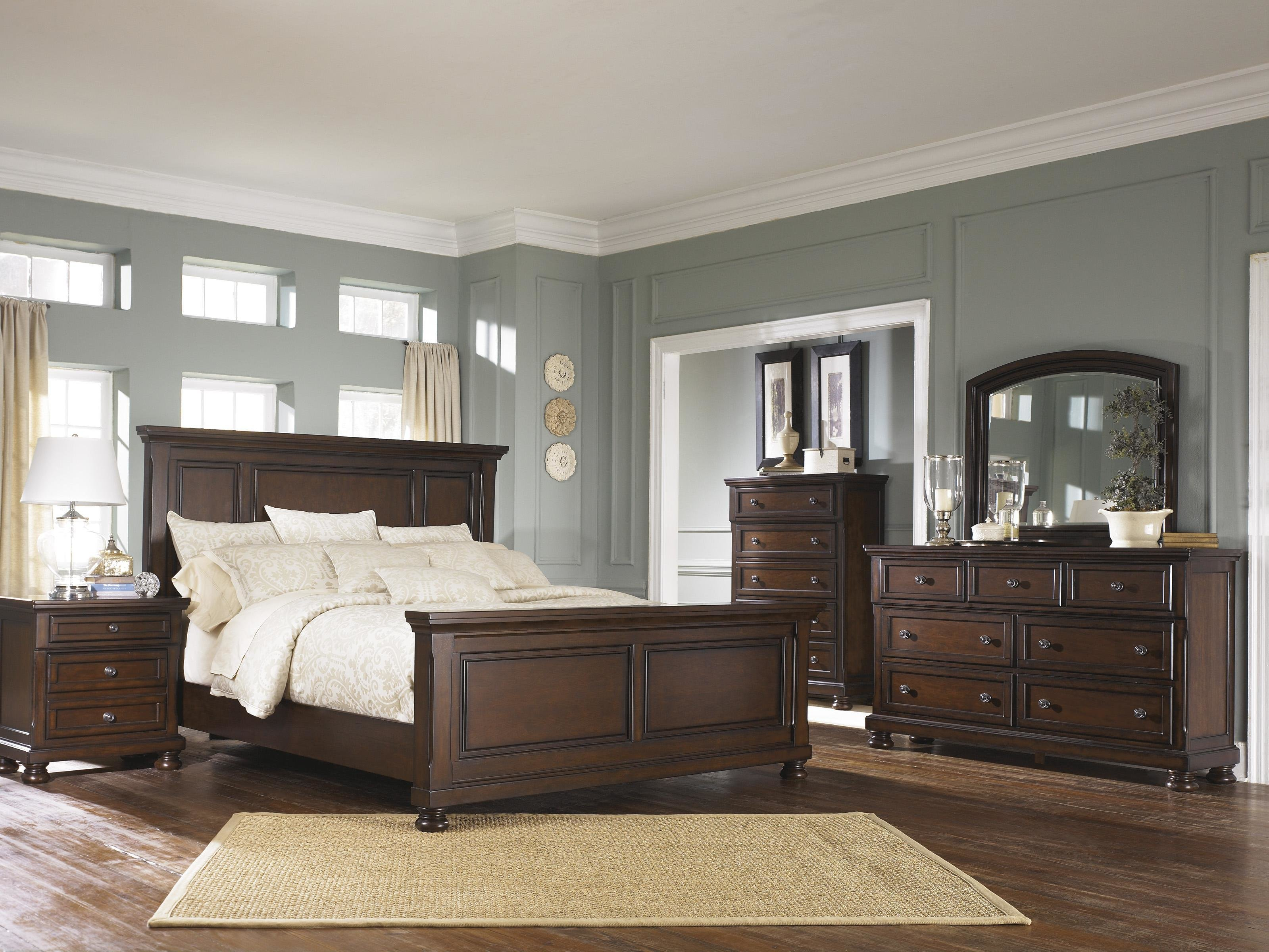 Best Ashley Furniture Porter Queen Bedroom Group Wayside With Pictures