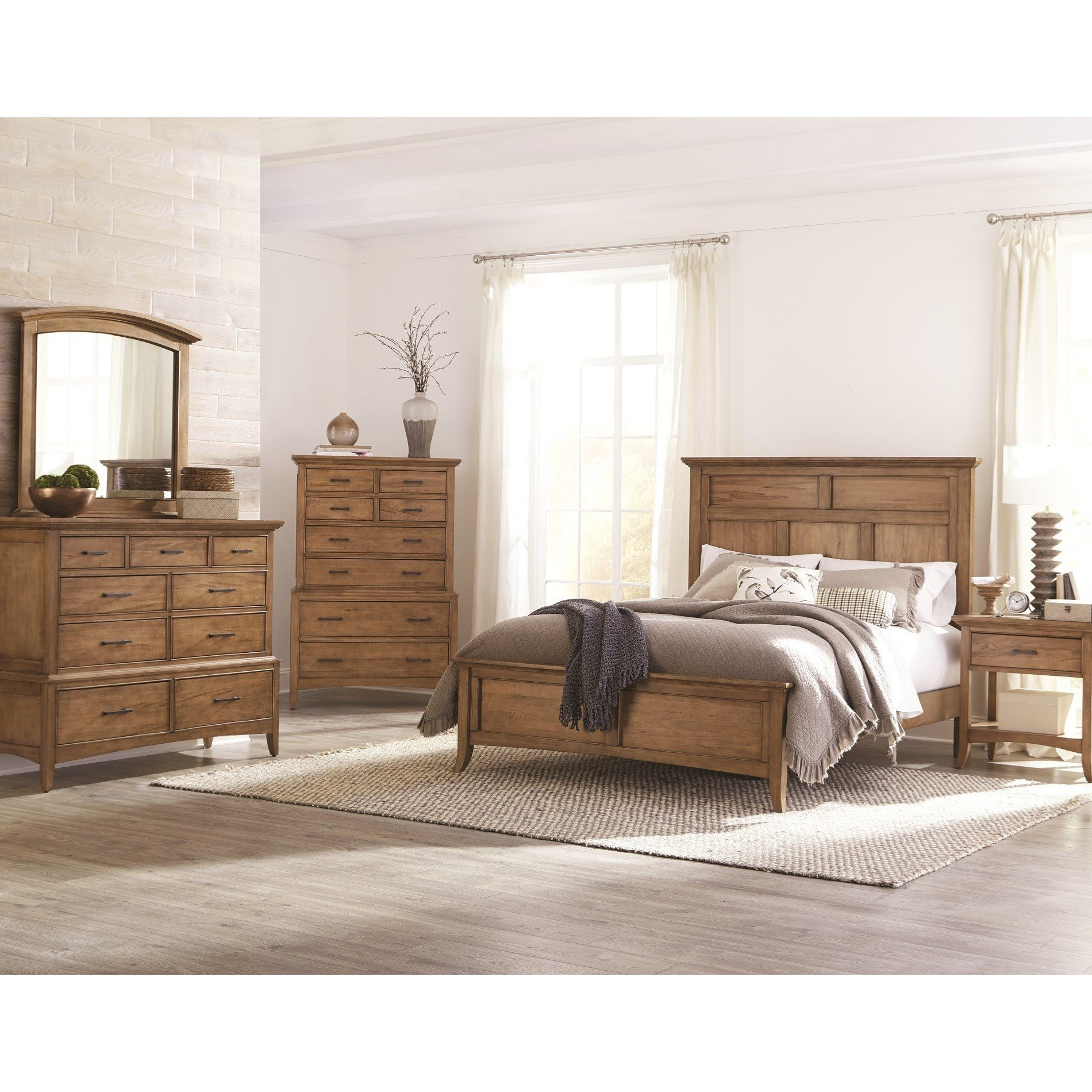 Best Cresent Fine Furniture Lockeland King Bedroom Group With Pictures