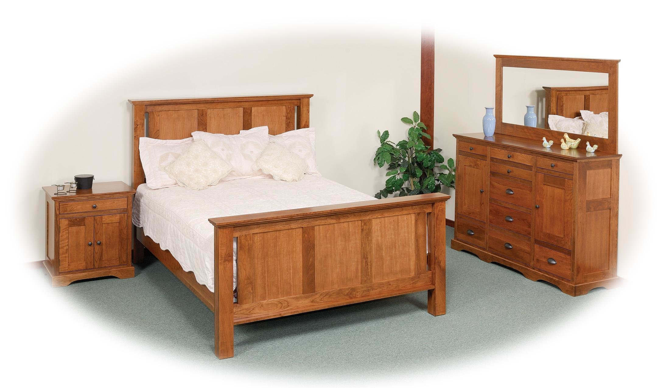 Best Amish Elegance Queen Bedroom Group 1 By Daniel S Amish With Pictures