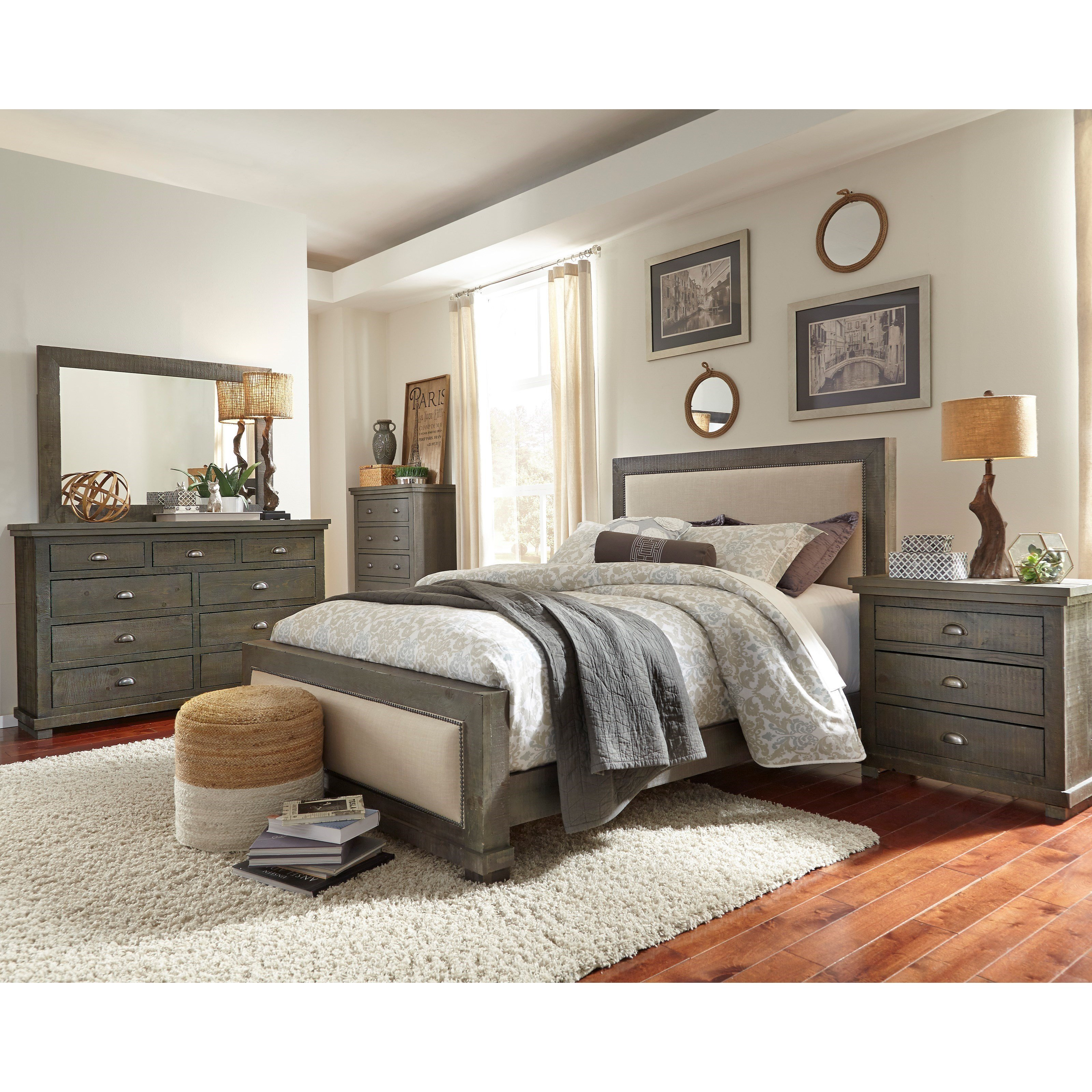 Best Progressive Furniture Willow King Bedroom Group Colder S With Pictures