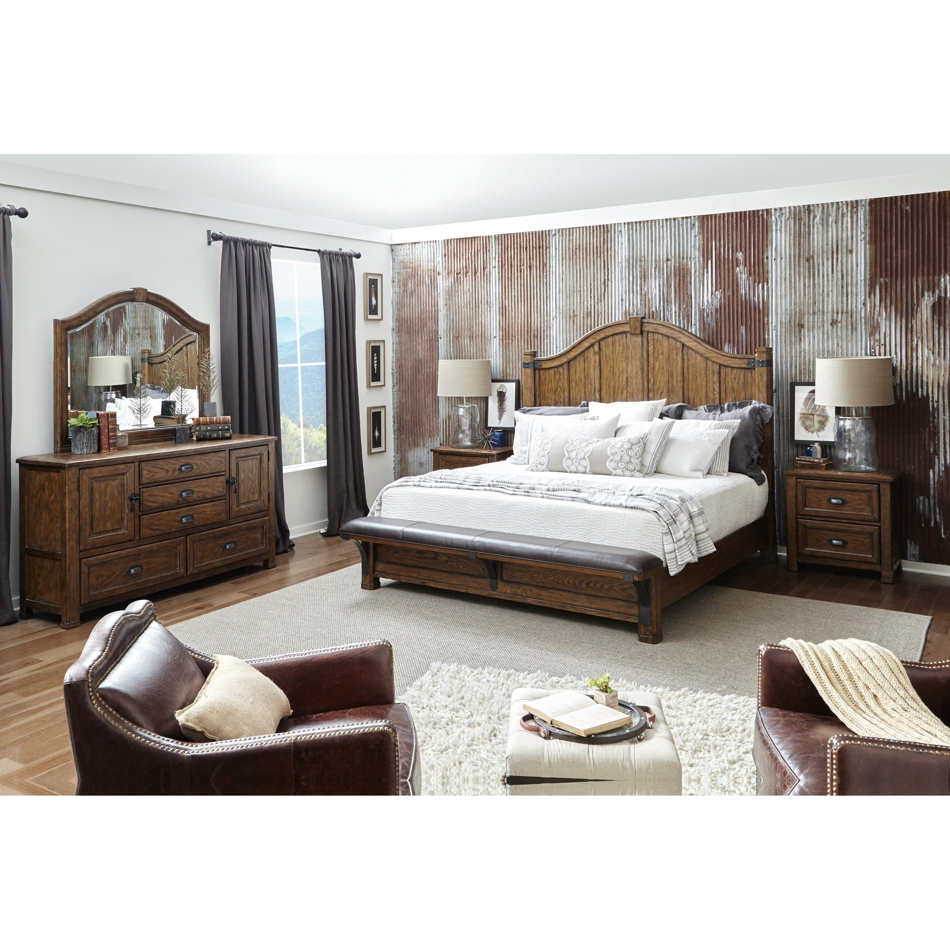 Best Pulaski Furniture Heartland Falls Queen Bedroom Group With Pictures