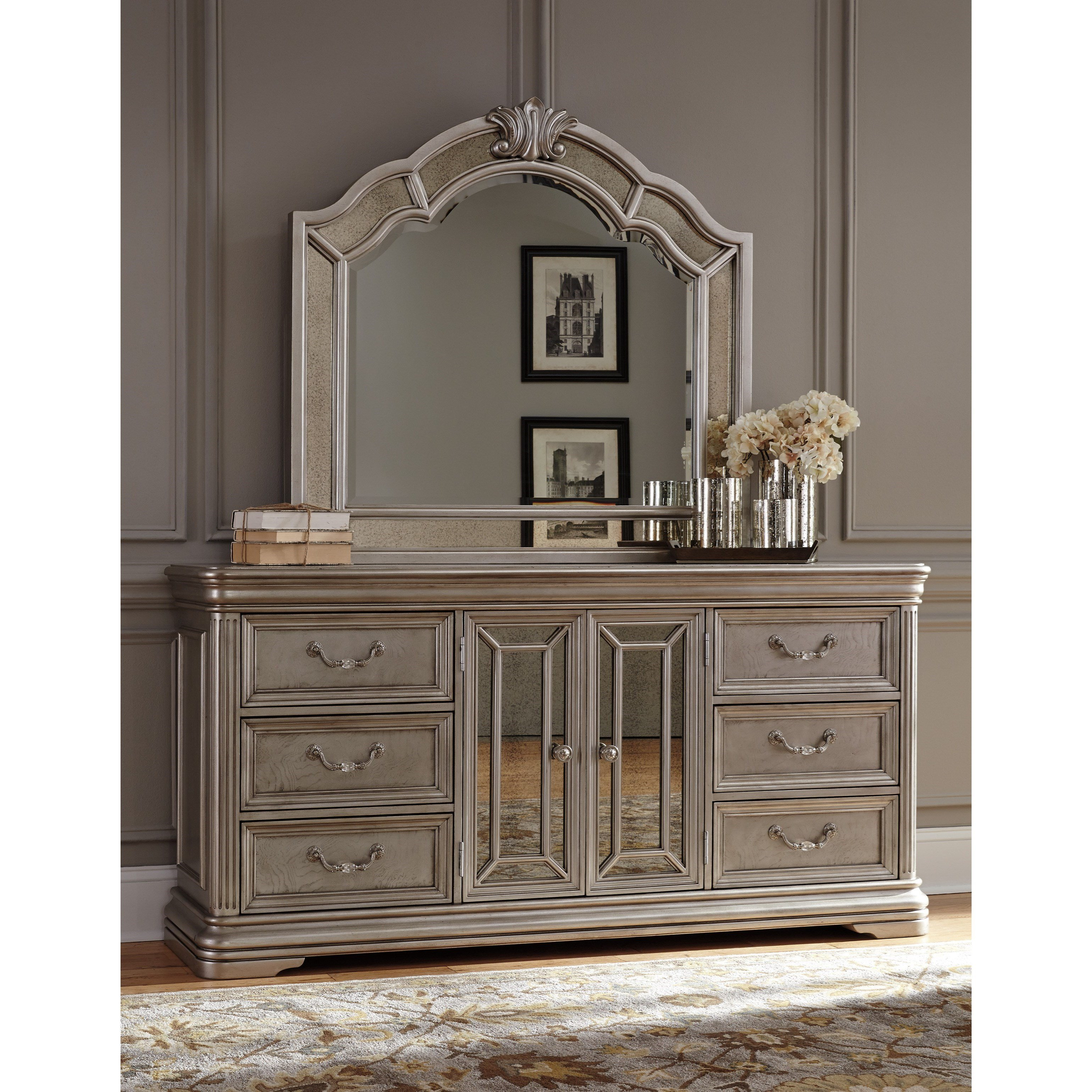 Best Signature Design By Ashley Birlanny Dresser With Mirror With Pictures