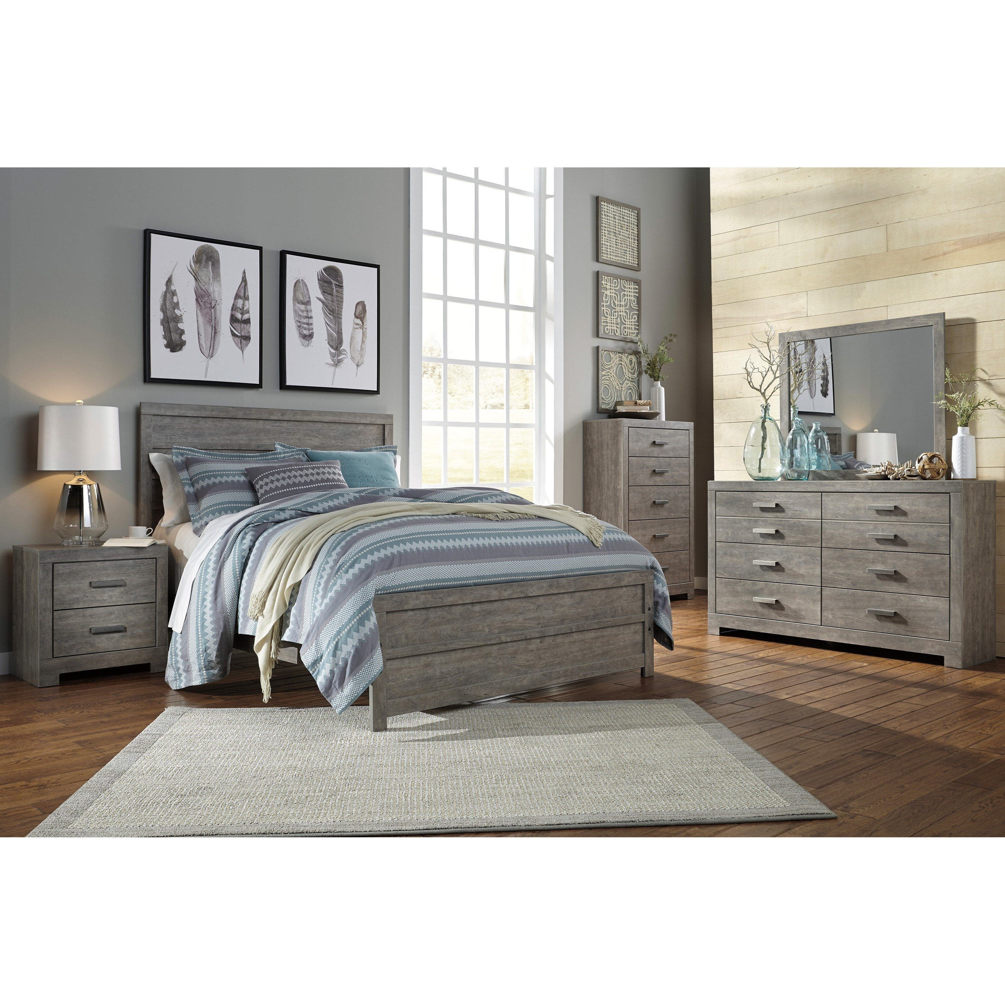 Best Signature Design By Ashley Culverbach Queen Bedroom Group Del Sol Furniture Bedroom Groups With Pictures