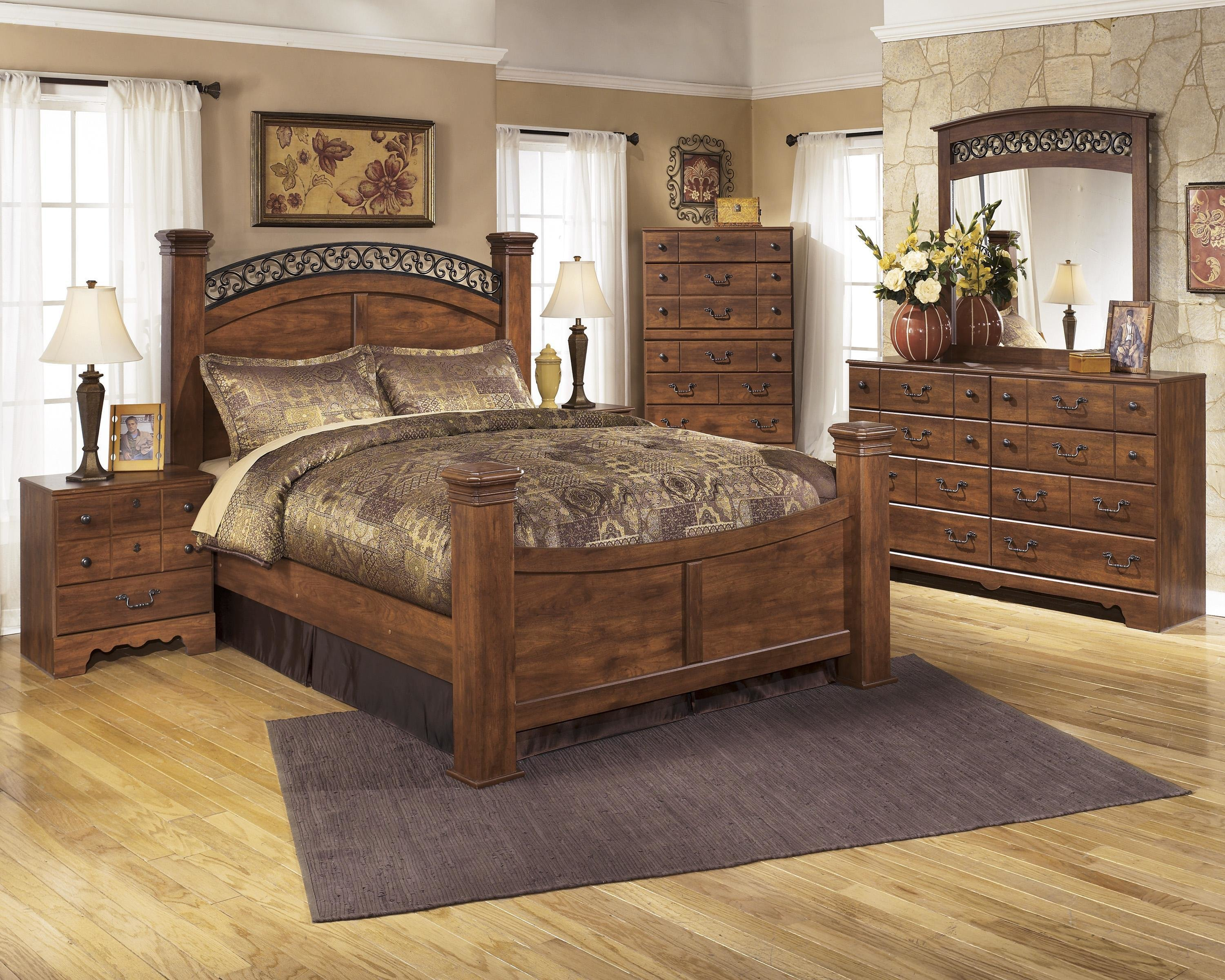 Best Signature Design By Ashley Timberline B258 Q Bedroom Group With Pictures
