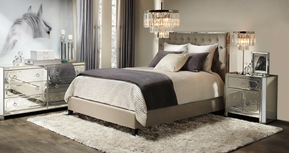Best Bedroom Inspiration Prague Bed Z Gallerie With Pictures