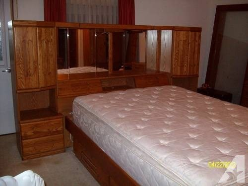 Best Pre Loved Bedroom Set Dresser Captains Bed Headboard W With Pictures