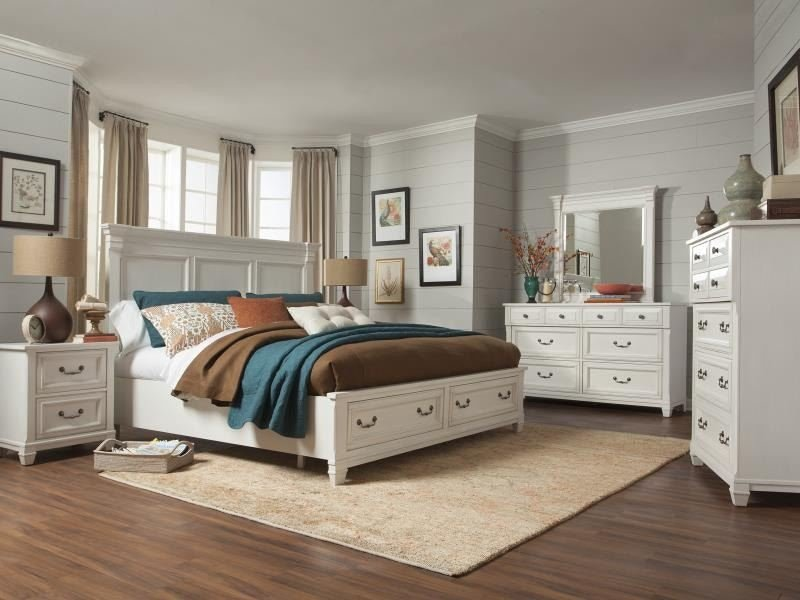 Best Magnussen Home Bedroom Complete Queen Panel Bed B4056 54 With Pictures