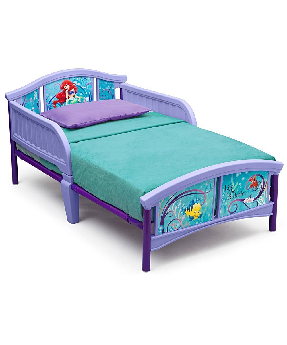 Best Disney Little Mermaid Toddler Bed Mattress Storage Bedroom With Pictures