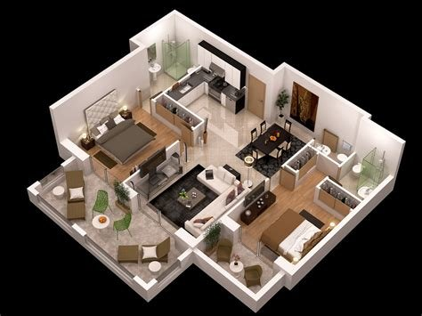 Best Detailed Floor Plan 3D Cgtrader With Pictures