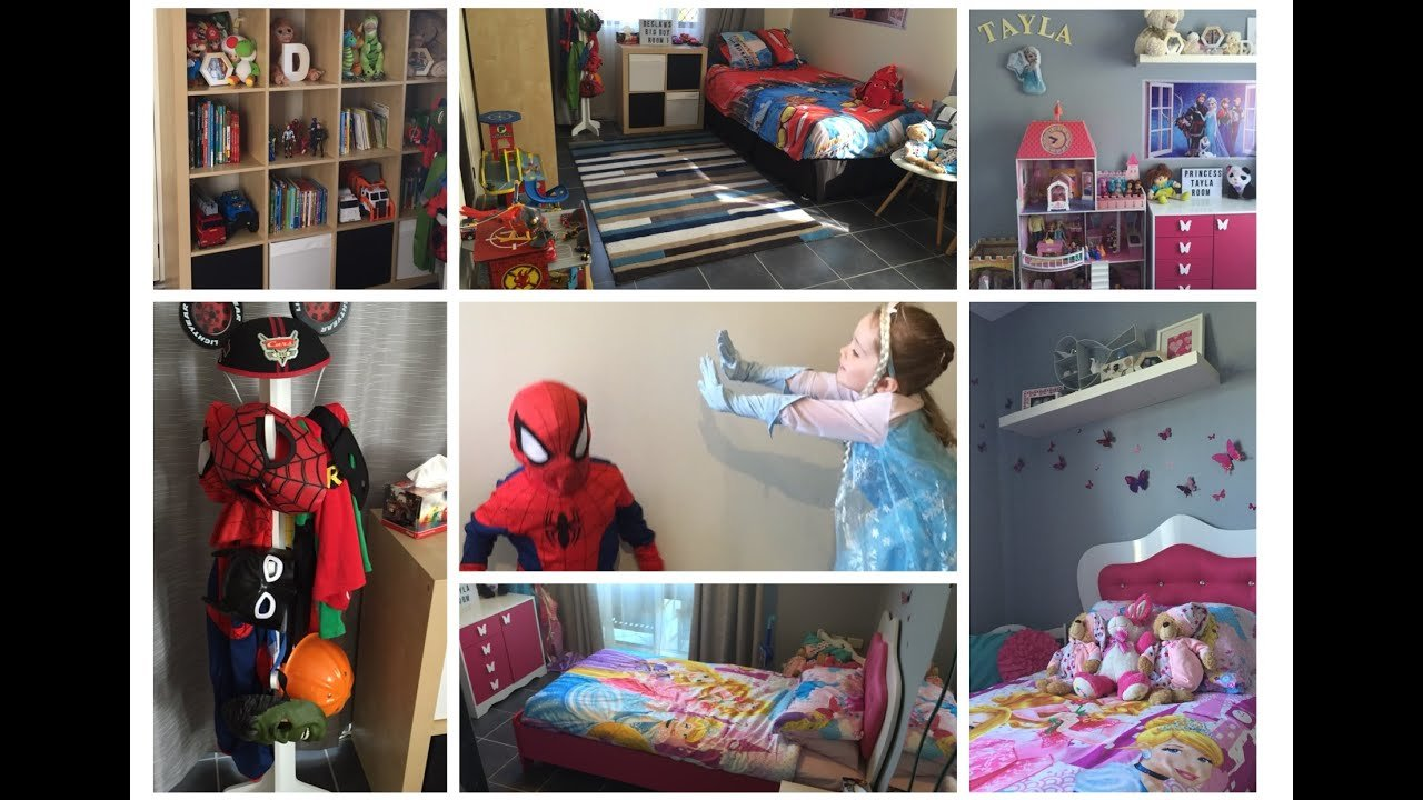 Best New Bedroom Tour 3 Year Old Boy Girl Twins Youtube With Pictures