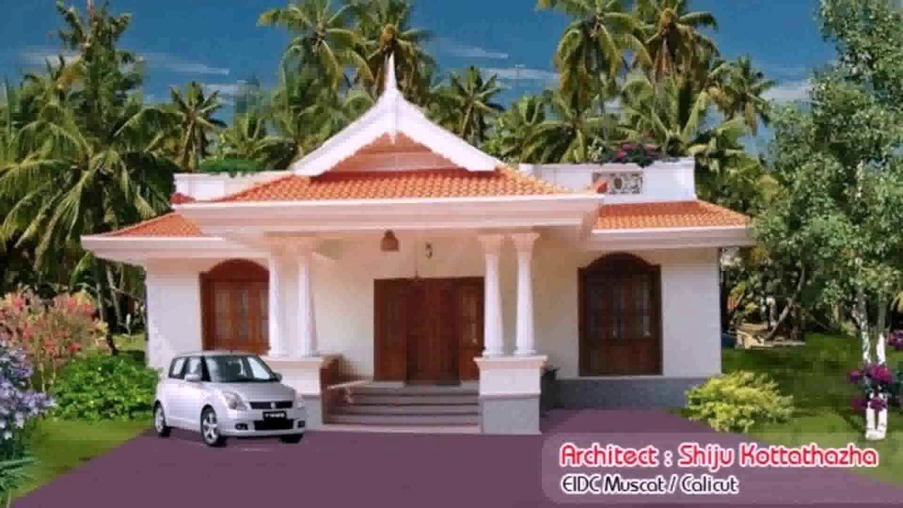Best 2 Bedroom House Plans Kerala Style 1000 Sq Feet Youtube With Pictures