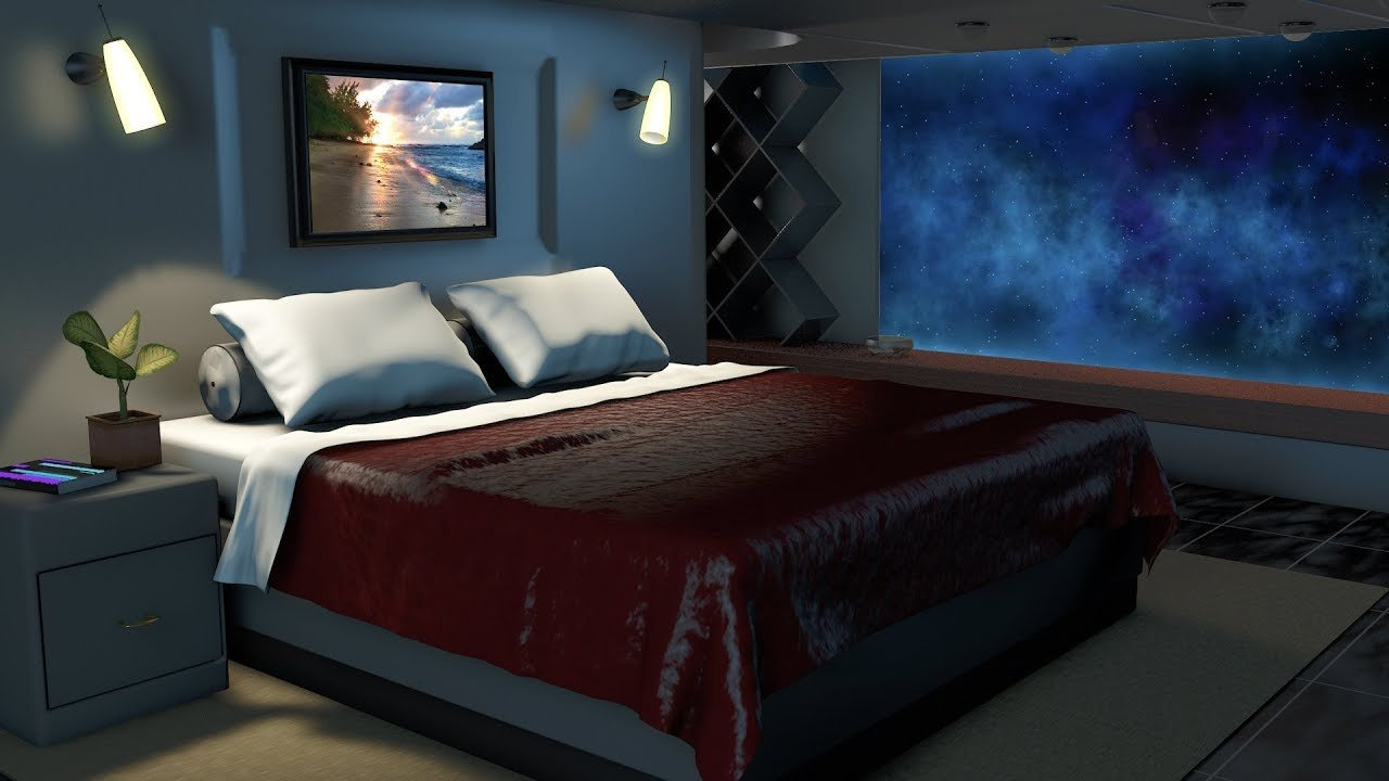 Best Spaceship Bedroom White Noise Sleep Study Focus 10 With Pictures