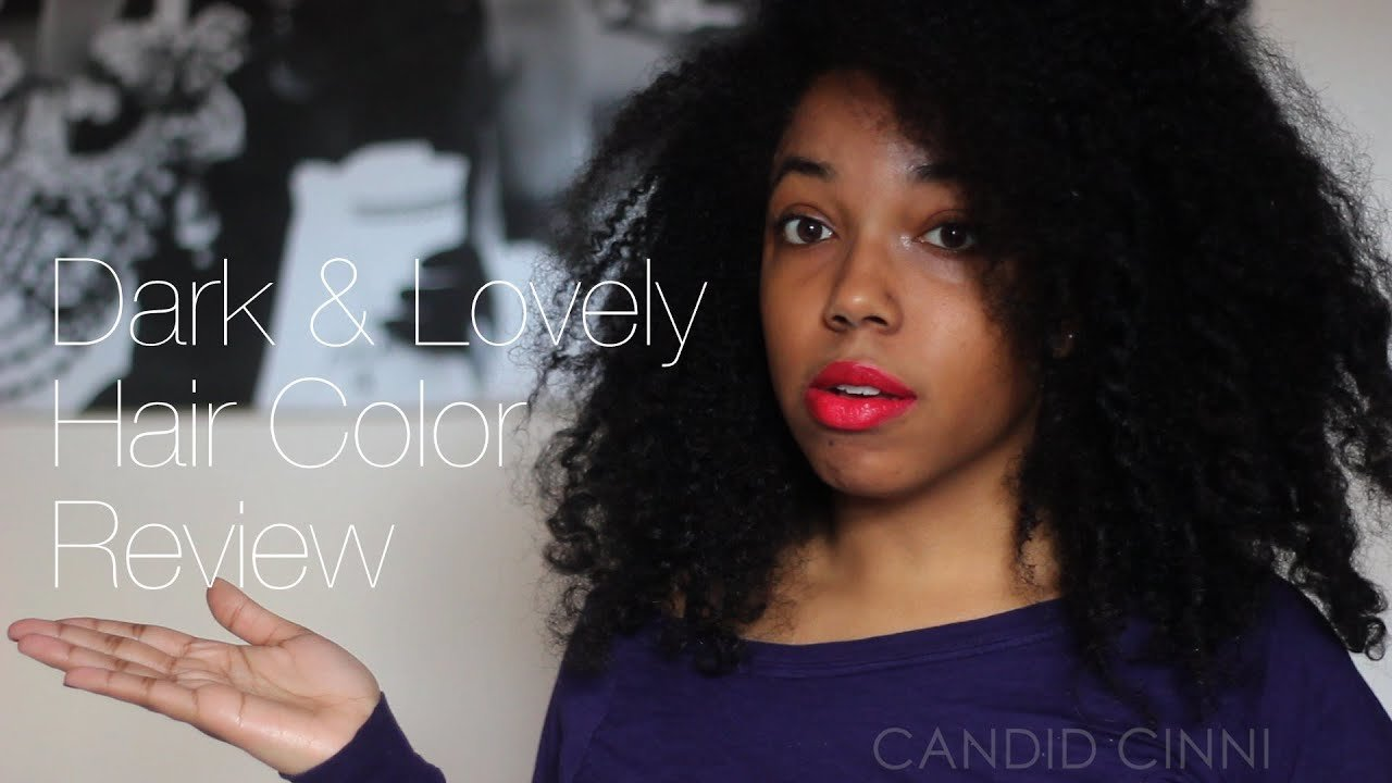 Free Hair Color Review Dark Lovely In Natural Black Youtube Wallpaper