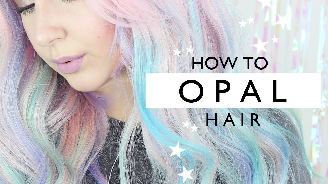 Free How To Opal Hair Tutorial By Tashaleelyn Youtube Wallpaper