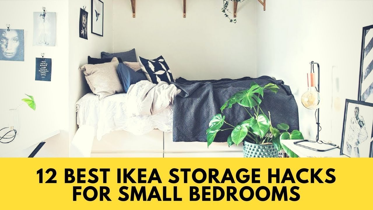 Best Ikea Hacks 12 Best Ikea Storage Hacks For Small Bedrooms With Pictures