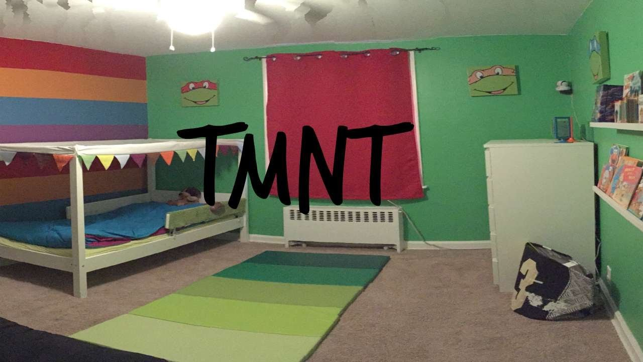 Best Teenage Mutant Ninja Turtle Themed Bedroom For Toddler With Pictures