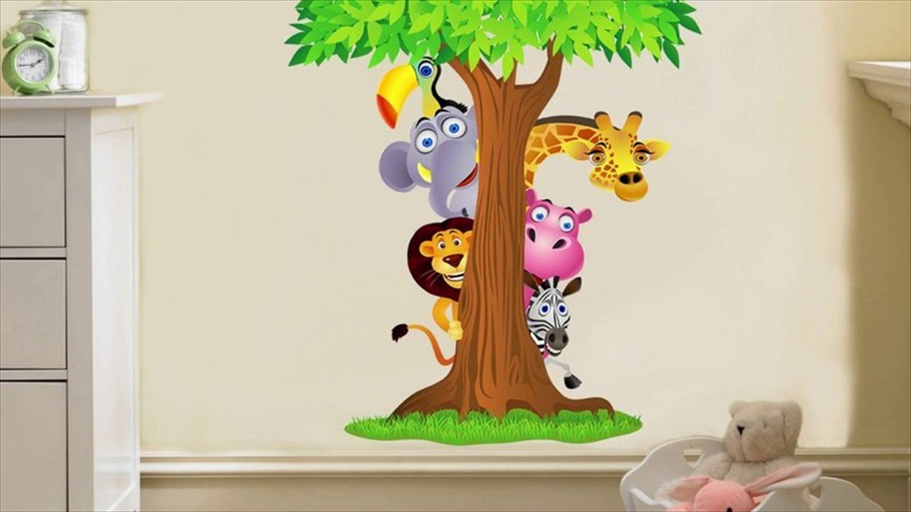 Best Removable Wall Stickers For Kids Bedrooms Youtube With Pictures