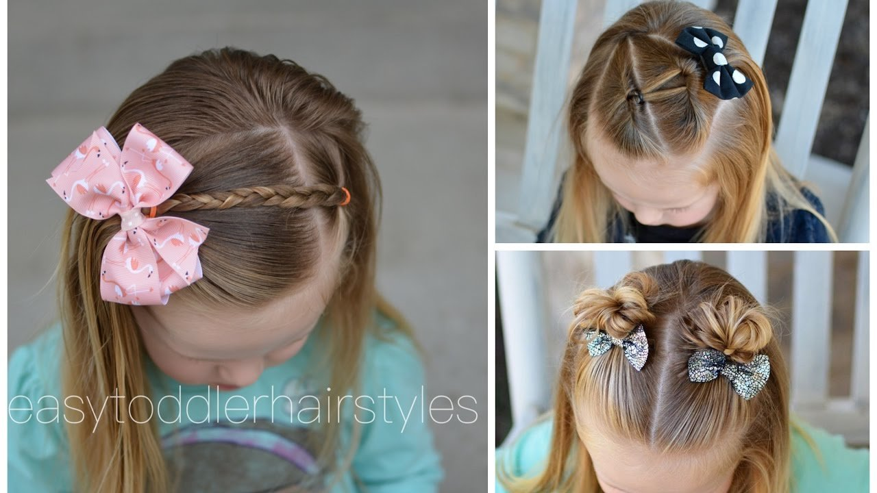 Free 3 Quick And Easy Toddler Hairstyles For Beginners Youtube Wallpaper