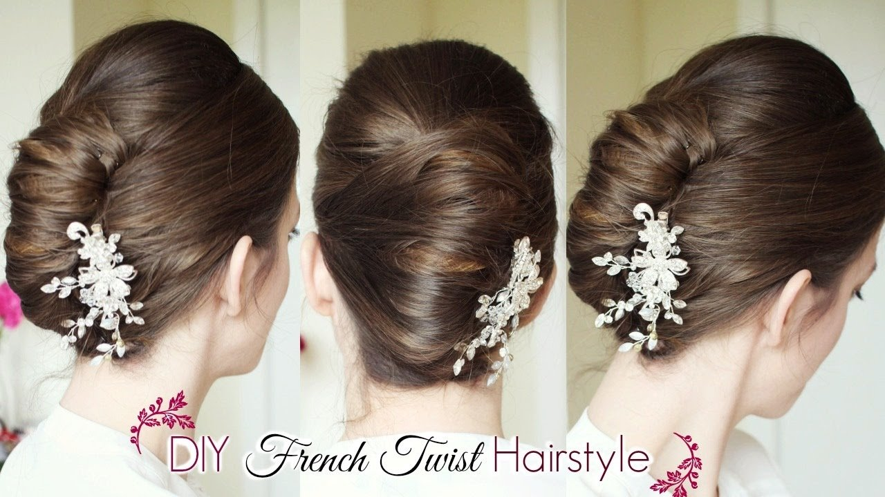 Free Diy French Twist Updo Holiday Updo Hairstyles Wallpaper