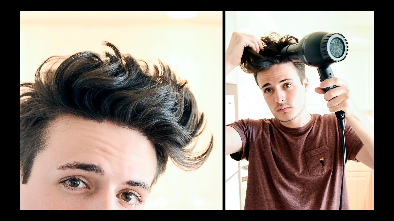 Free Mens Hairstyle Messy Textured Beachy Hair Tutorial Wallpaper
