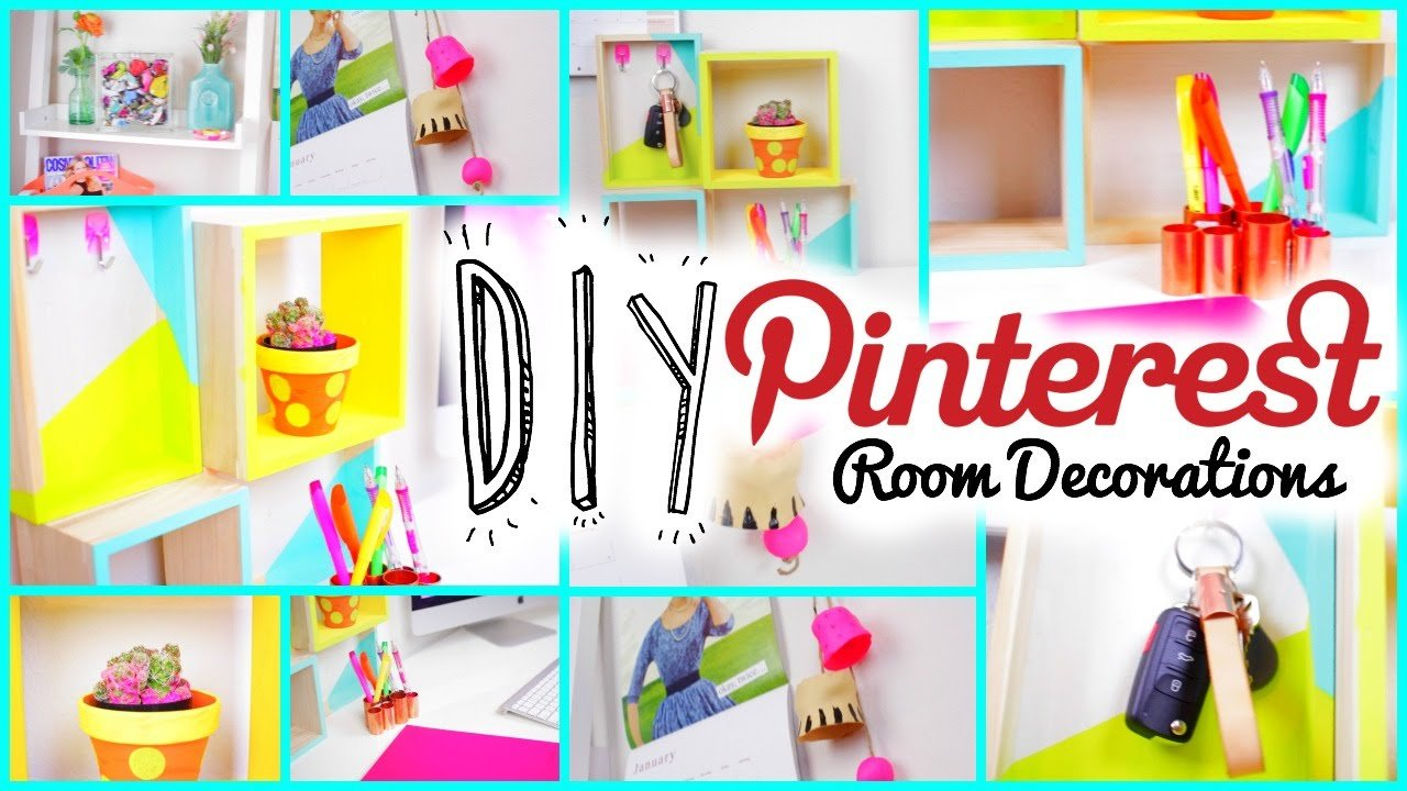Best Diy Room Decorations Pinterest Tumblr Inspired Youtube With Pictures